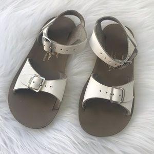 Saltwater Sandals Sun San Surfer Size 11 White